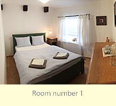pension WOK - Cesky Krumlov - Zimmer Nr. 1 mit Blick auf die Straße Rybarska