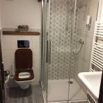 pension WOK pokoj č.1 sprchový kout s vytápěnou podlahou