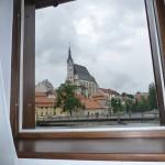 pohled na historické centrum